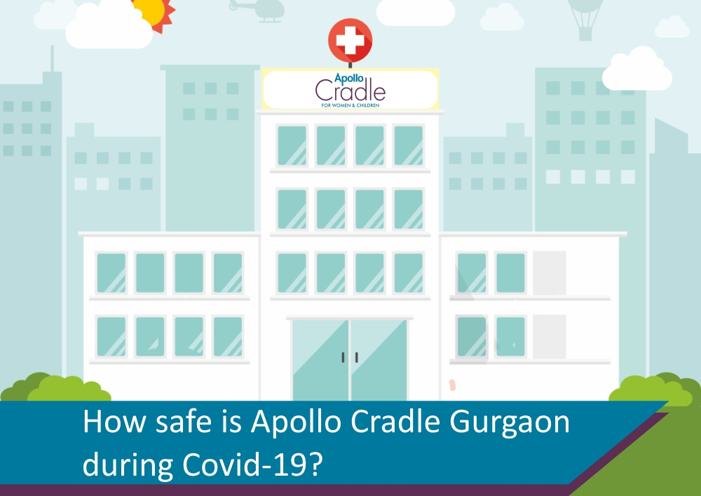 How safe is Apollo Cradle Gurgaon during Covid-19